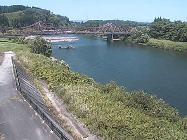 舟形町役場 堀内橋上流左岸 - Webカメラまっぷ